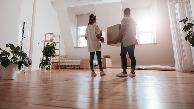 First-time buyers help to prop up the property market
