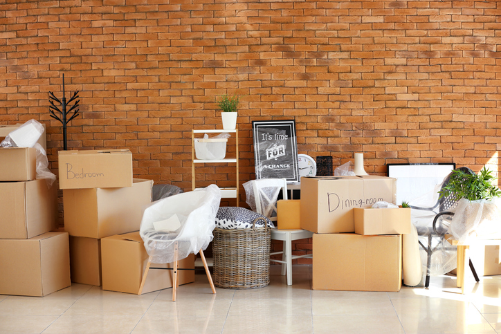 House-moving day – the logistics